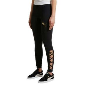 Puma Lace Up Leggings NWT